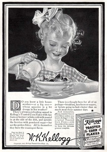 Kellogg's Toasted Corn Flakes -1915A