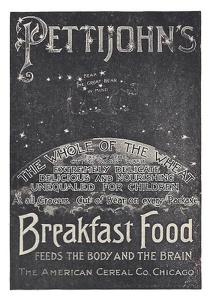 Pettijohn's Breakfast Food -1898A