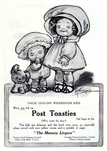 Post Toasties -1911A