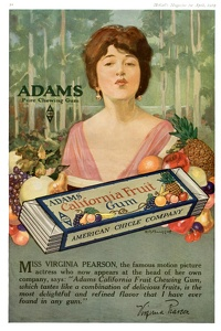 Adams California Fruit Gum -1919E