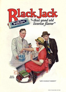 Adams Black Jack Gum -1925A