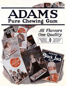 Adams Chewing Gum -1920A