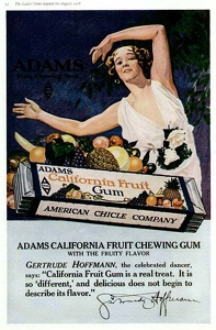 Adams California Fruit Gum -1918A