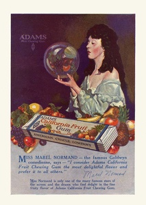 Adams California Fruit Gum -1919A