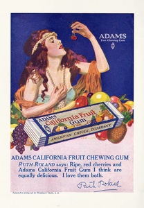 Adams California Fruit Gum -1919B