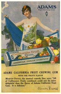 Adams California Fruit Gum -1919C