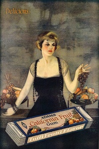 Adams California Fruit Gum -1920B