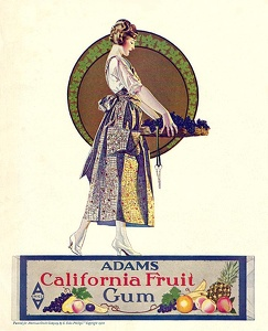 Adams California Fruit Gum -1920A