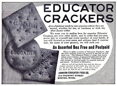 Educator Crackers -1909A