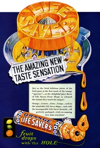 Life Savers Fruit Drops -1930A