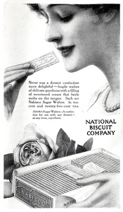 Nabisco Sugar Wafers -1915B