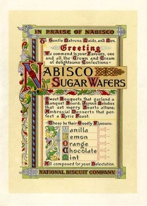 Nabisco Sugar Wafers -1905A