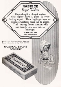 Nabisco Sugar Wafers -1911A.