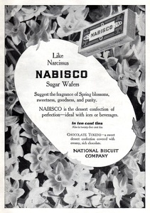 Nabisco Sugar Wafers -1911B