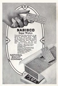 Nabisco Sugar Wafers -1913A