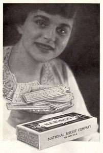 Nabisco Sugar Wafers -1915A