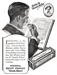 National Biscuit Fig Newtons -1924A