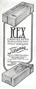 Rex Chocolates -1913A