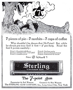 Sterling Cinammon Gum -1914A