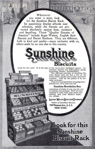 Sunshine Biscuits -1915A