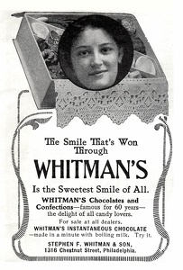 Whitman's Chocolates -1900'sA
