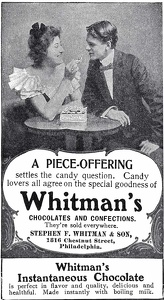 Whitman's Chocolates -1901A