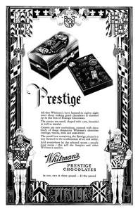 Whitman's Chocolates -1930A