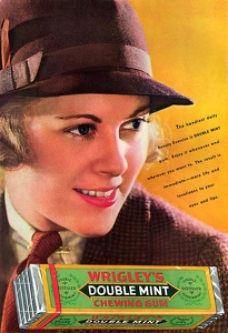 Wrigley's Double Mint Gum -1935A