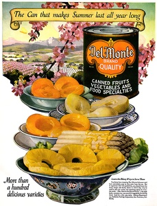 Del Monte Canned Foods -1923A