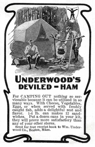 Underwood's Deviled Ham -1900'sA