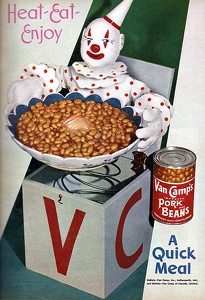 Van Camp's Pork and Beans -1947A