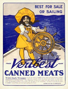 Veribest Canned Meats -1910'sA