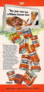 Wilson's Canned Meats -1949A