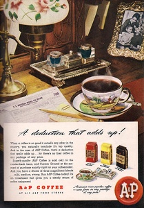 A and P Coffee -1947A