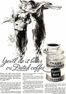 Chase & Sanborn Coffee -1933A