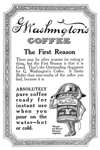 G. Washington's Coffee -1919A