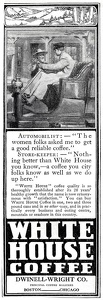 White House Coffee -1910A
