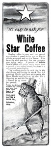 White Star Coffee -1902A