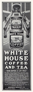 White House Coffee and Tea -1911A