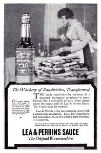 Lea and Perrins Sauce -1917A