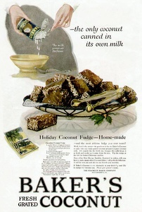 Baker's Coconut -1919A