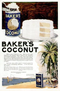Baker's Coconut -1920A