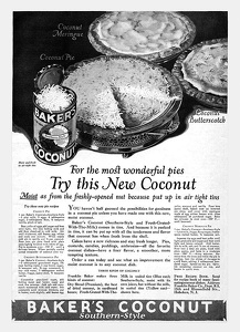 Baker's Coconut -1924A
