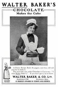 Walter Baker's Chocolate -1904A