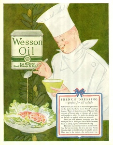 Wesson Oil -1927A