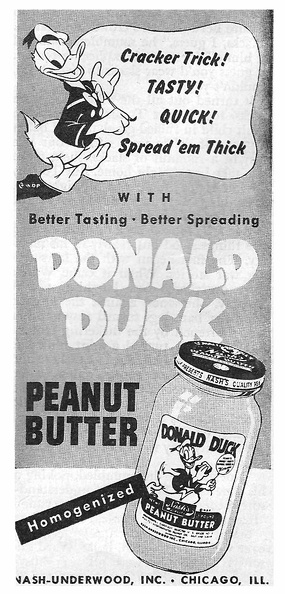 Donald Duck Peanut Butter -1946A.jpg