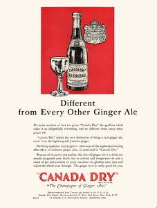 Canada Dry Ginger Ale -1928A