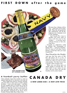 Canada Dry Ginger Ale -1931A