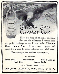 Clicquot Club Ginger Ale -1909A