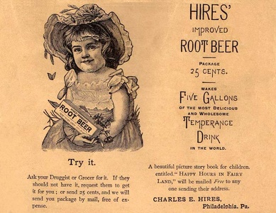 Hires' Root Beer -1888A